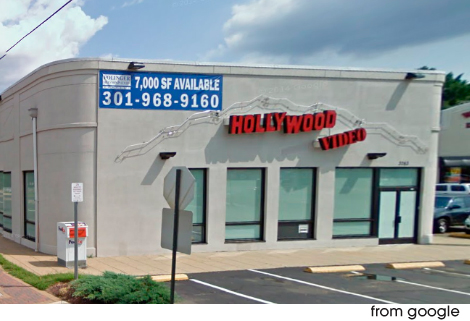 Hollywood Video, Columbia Pike