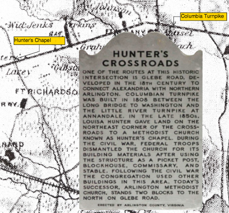 Hunter Crossroads Plaque