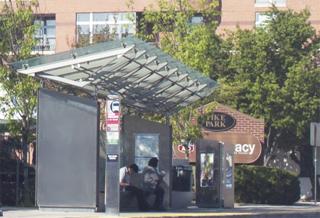 Million Dollar Busstop, Columbia Pike